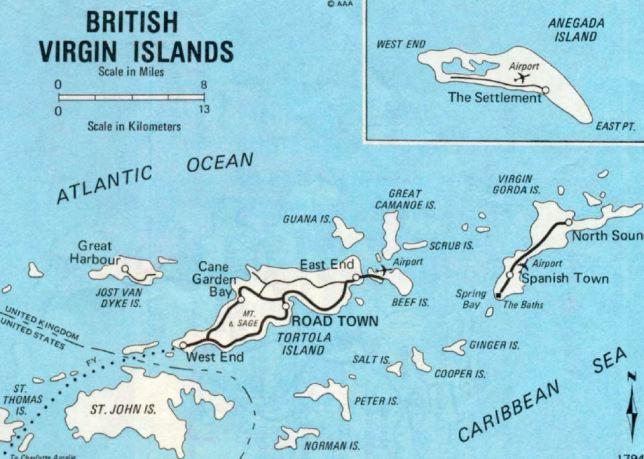 Sea Kayaking in the British Virgin Islands – DHGray